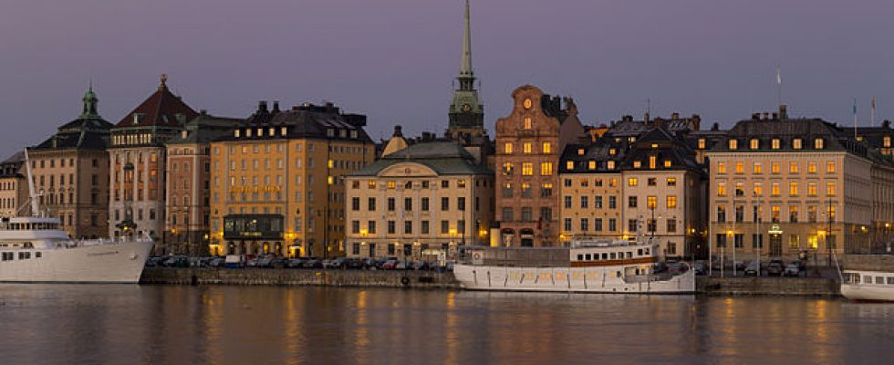 """Stockholms Old Town seen from Skeppsholmen"" by Brorsson - Own work. Licensed under CC BY-SA 3.0 via Wikimedia Commons - https://commons.wikimedia.org/wiki/File:Stockholms_Old_Town_seen_from_Skeppsholmen.jpg#/media/File:Stockholms_Old_Town_seen_from_Skeppsholmen.jpg"